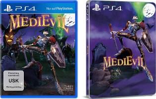 Medievil (PS4) + steelbook