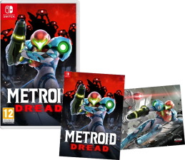Metroid Dread (Switch) + poster