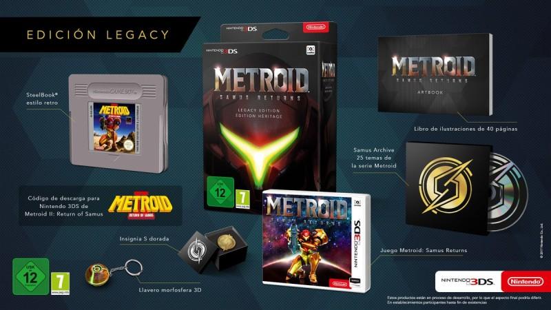 Metroid : Samus Returns édition Héritage (3DS)