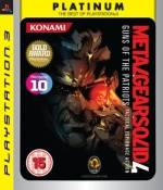 Metal Gear Solid 4 Platinum (PS3)