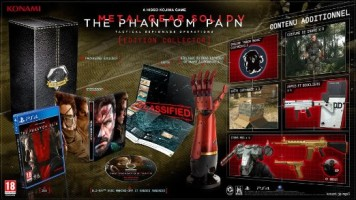 Metal Gear Solid V : The Phantom Pain édition collector (PS4)