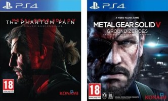 Metal Gear Solid V The Phantom Pain + Ground Zeroes (PS4)