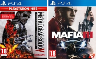 Metal Gear Solid V : The Definitive Experience + Mafia III (PS4)