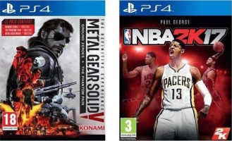 Metal Gear Solid V : The Definitive Experience + NBA 2K17 (PS4)