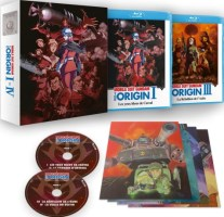 Mobile Suit Gundam : The Origin I à IV (blu-ray)
