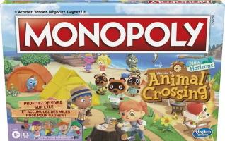 "Monopoly ""Animal Crossing: New Horizons"""