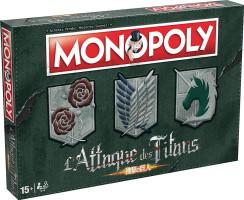 """Monopoly """"L'attaque des titans"""""""