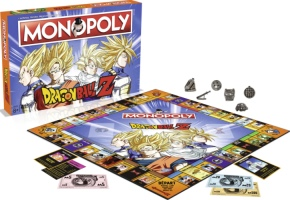 """Monopoly """"Dragon Ball Z"""""""