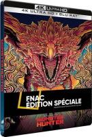 Monster Hunter édition steelbook (blu-ray 4K)