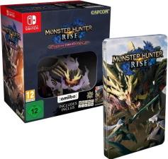 Monster Hunter Rise édition collector (Switch) + steelbook offert