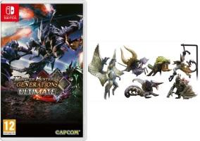 Monster Hunter Generations Ultimate (Switch) + figurine offerte