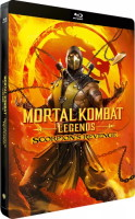Mortal Kombat Legends: Scorpion's Revenge édition steelbook (blu-ray)