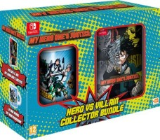 Pack Collector My Hero One's Justice + Mug Héros My Hero Academia sur Switch