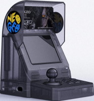 "Neo Geo Mini édition limitée Samurai Shodown ""Kuroko"""