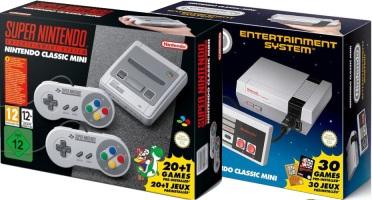 NES Mini + SNES Mini