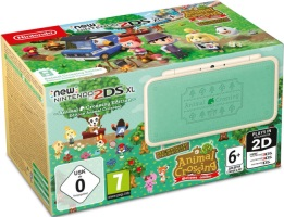 "New 2DS XL édition limitée ""Animal Crossing New Leaf"""