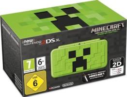 "New 2DS XL édition limitée ""Minecraft Creeper"""