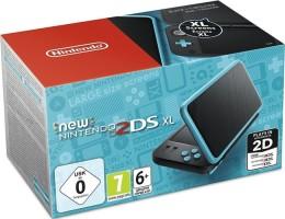 New 2DS XL noire et turquoise