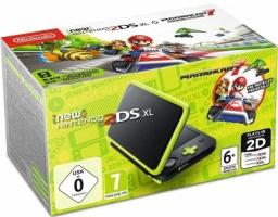 New 2DS XL noire et vert citron + Mario Kart