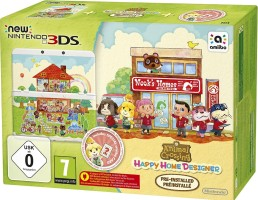 "New 3DS édition limitée ""Animal Crossing : Happy Home Designer"""