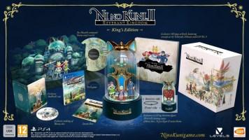 Ni No Kuni II : L'avènement d'un nouveau royaume édition collector du roi (PS4)