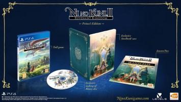 """Ni No Kuni 2 : L'avènement d'un nouveau royaume édition collector """"édition du prince"""" (PS4)"""