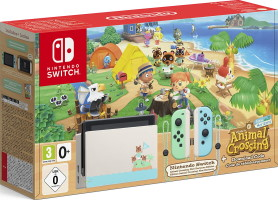 "Switch édition limitée ""Animal Crossing: New Horizons"""