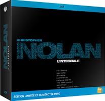 Coffret intégrale Christopher Nolan édition limitée et numérotée (9 blu-ray + 2 DVD)