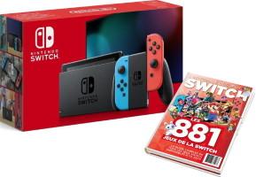 Nouvelle Switch avec joy-con néon