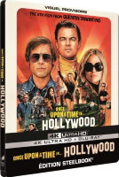 Once Upon a Time… in Hollywood édition steelbook (blu-ray 4K)