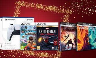 jusqu'à 80€ offerts aux adhérents fnac pour l'achat simultané d'un jeu ou une manette PS5 et de blu-ray 4K sur fnac.com