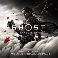"Bande originale ""Ghost of Tsushima"" en CD"