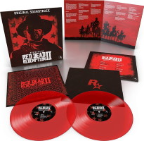 Bande originale Red Dead Redemption II en vinyles rouges translucides