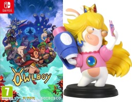 Owlboy (Switch) + figurine Mario & les lapins crétins