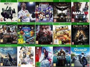 Pack de 15 jeux Xbox One
