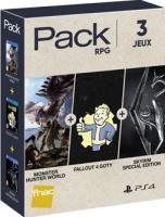Pack de 3 jeux PS4