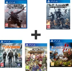 NieR : Automata + Blood Bowl II + Homefront : The Revolution + Aegis of Earth Protonovus Assault (PS4)