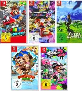 5 jeux pour le prix de 3 sur amazon DE