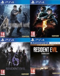 "Pack ""Resident Evil 4 + 5 + 6 + VII Gold"" (PS4)"