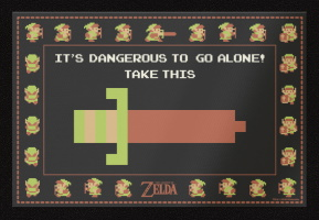 "Paillasson ""Zelda"""