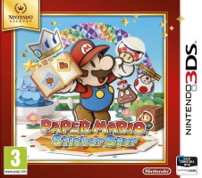 Paper Mario Sticker Star édition Selects (3DS)