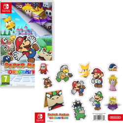 Paper Mario: The Origami King (Switch) + magnets offerts