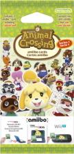 Paquet de cartes Amiibo Animal Crossing série 1