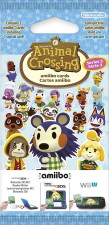 Paquet de cartes Amiibo Animal Crossing