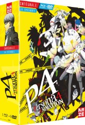 Persona 4 : The Animation Intégrale (blu-ray + DVD)