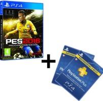 PES 2016 (PS4) + 6 mois de PS+