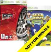 PGR4 + Sega Superstars Tennis sur xbox 360