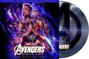 """Bande originale """"Avengers: Endgame"""" en vinyle picture disc"""