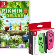 Pikmin 3 Deluxe + joy-con rose/vert