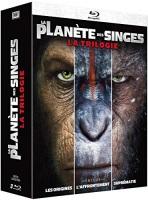 """Trilogie """"la planète des singes"""" (blu-ray)"""